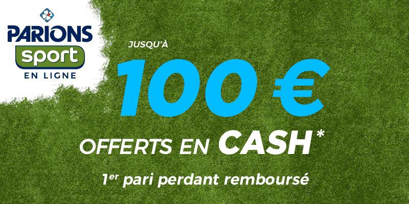 Parions Sport : 100 Euros en cash offert